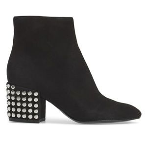 Kendall & Kylie studded suede booties!!